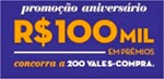 promocao aniversario 100 mil em premios pernambucanas