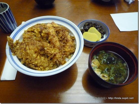 銀座天國-炸蝦蓋飯