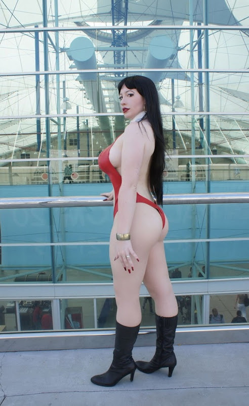 BelleChere as Vampirella