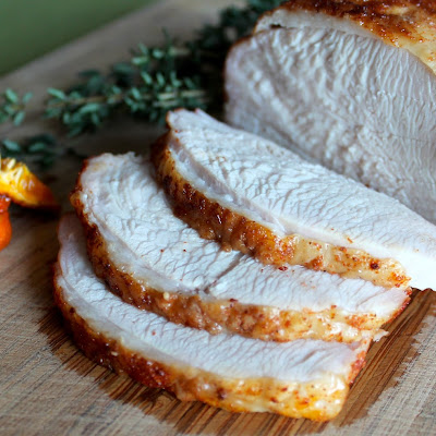 Smoky Roast Turkey Breast