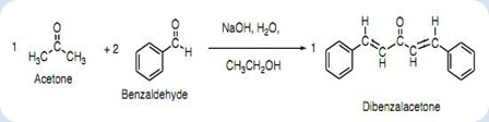 synthesis of dibenzalacetone