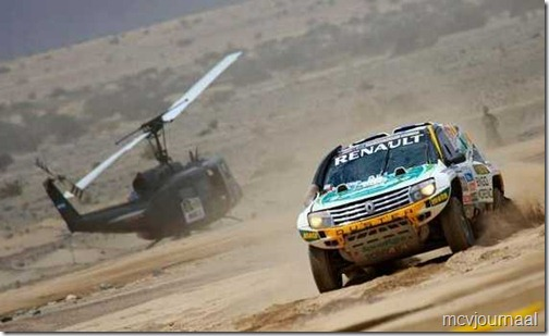 Dakar Rally Renault Duster 40