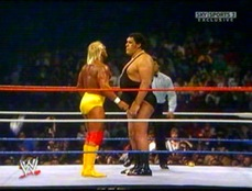 Hogan vs Andre the Giant