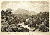 An old Dutch illustration of Gunung Lubuk Raya