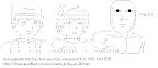 [AA]パズ & シータ & 無表情 「バルス!」 (天空の城ラピュタ)