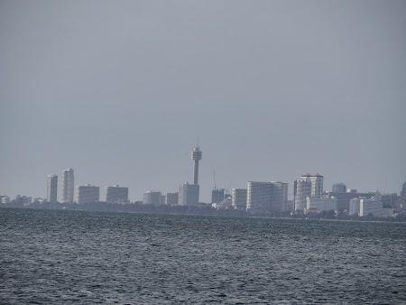 Pattaya vazuta de departe