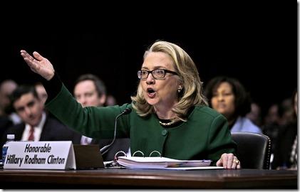 APTOPIX Clinton Libya