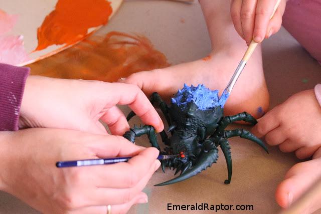 Painting Orcs & Goblins Arachnarok Spider