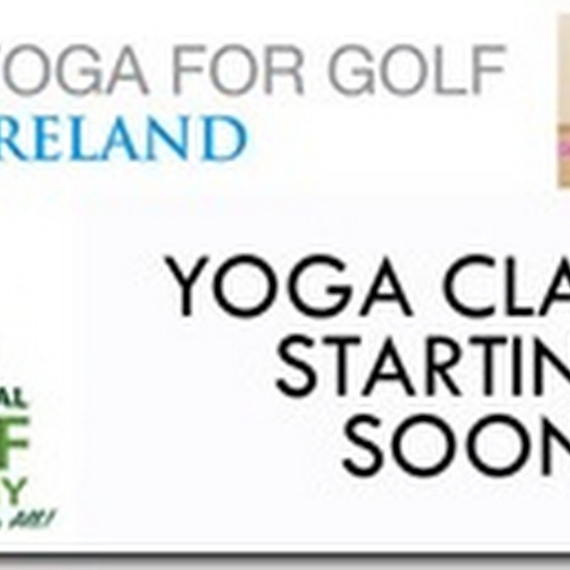 Anne Marie Kennedy's Yoga For Golfers Class at GUI Maynooth