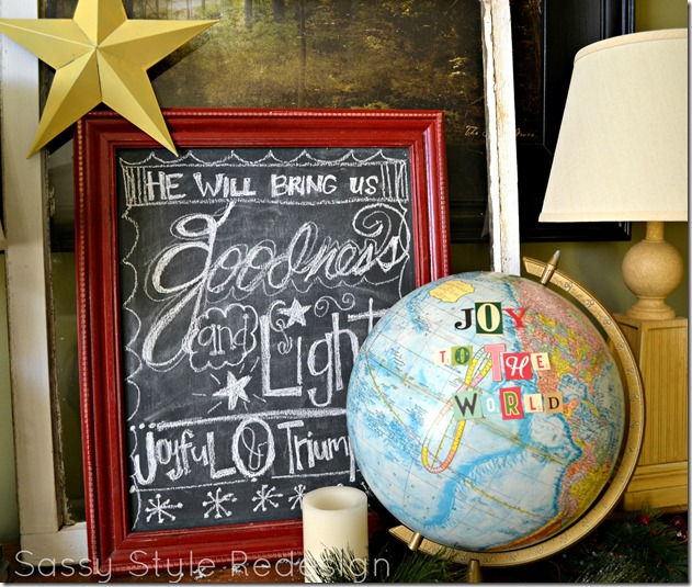 christmas decor joy to the world finished