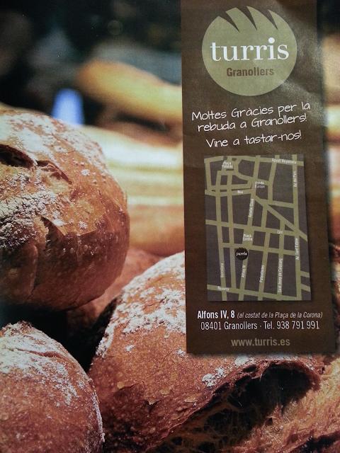 La cocina de pssssss turris pan de verdad en granollers for Cursos de cocina en granollers