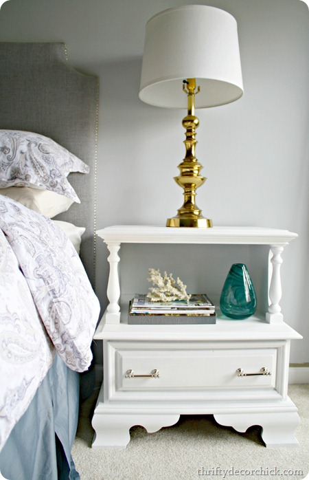 painting a nightstand