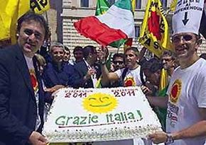 Festa Ecologisti al Pantheon per il quorum Referendum (2011)