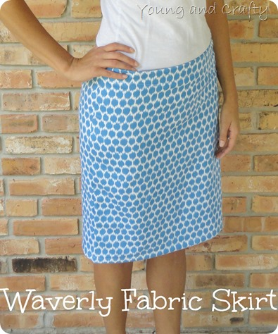Waverly Fabric Skirt
