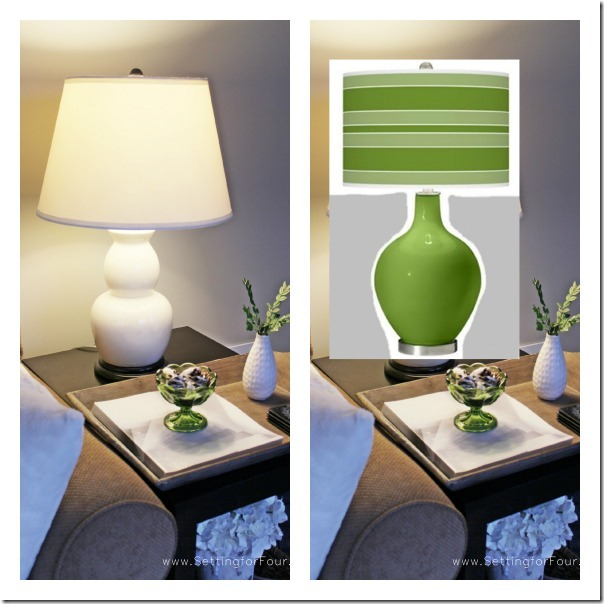 Before and After, Colorful Lamp