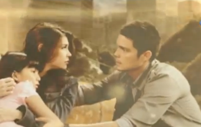 Rhian Ramos and Dingdong Dantes in Genesis