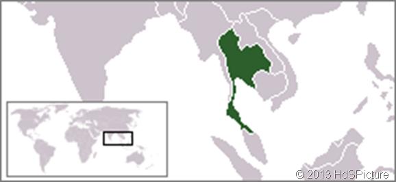 Lokasi Thailand