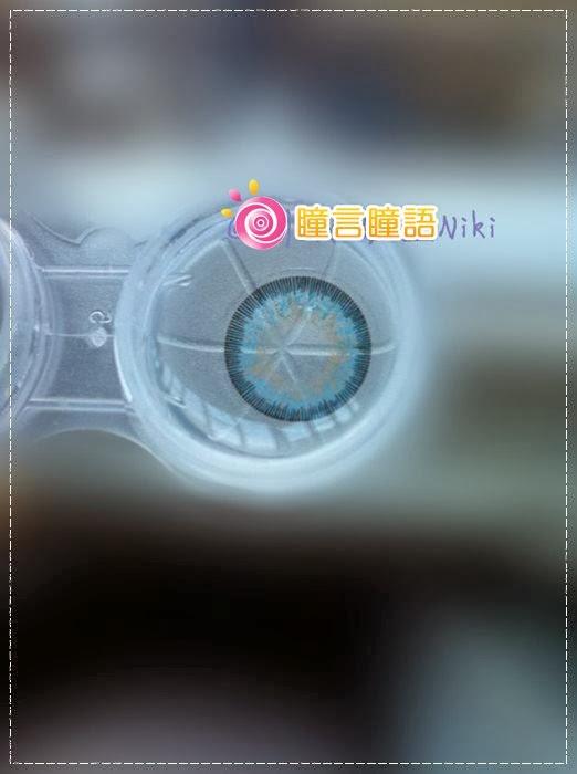 韓國GEO隱形眼鏡-GEO Sparkling 火花四色藍4