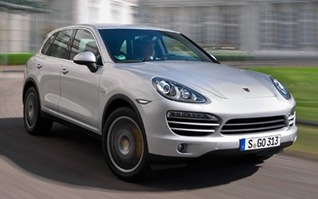 PorscheCayenneSilver