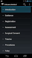 Screenshot of Cebuano Medical Phrases