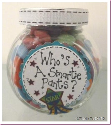 Smartie Pants Sweet Jar