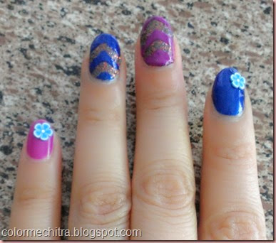 Chitra Pal Sinfulolors Nail Art for Collage (74)