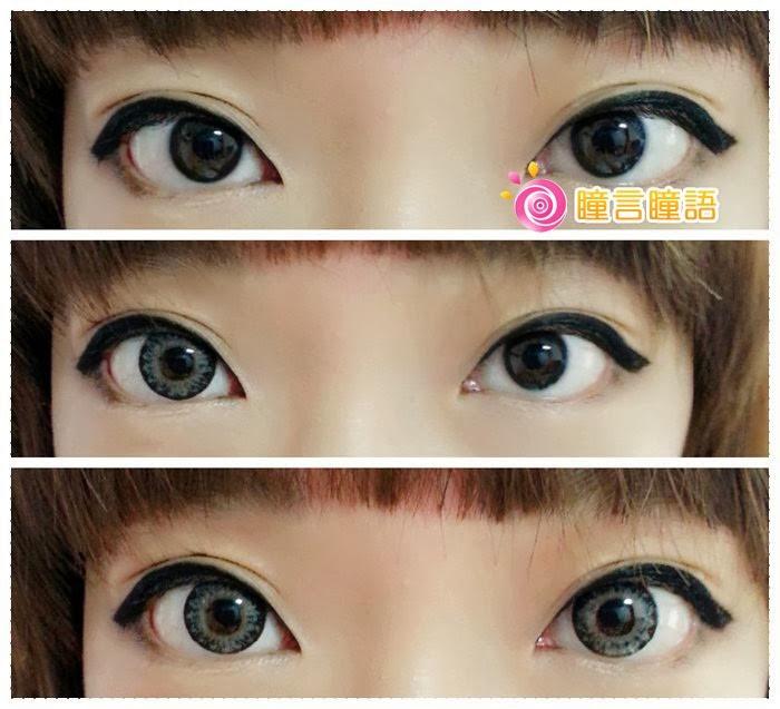 韓國GEO隱形眼鏡-GEO Eyes Cream 霜淇淋灰7