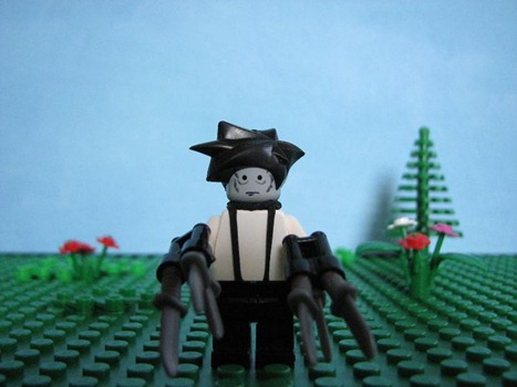 Lego Edward Scissorhands by SirSquid