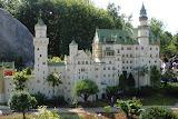 Neuschwanstein Castle, MiniLand - made from more than 300,000 lego bricks