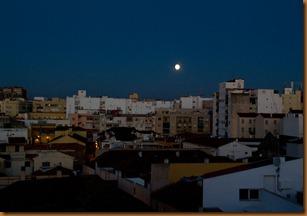 Malaga, moon