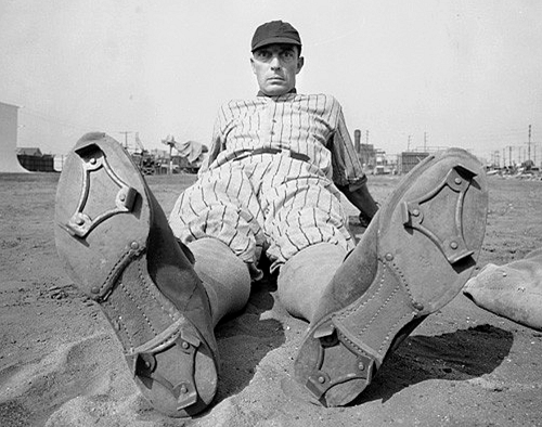 Buster Keaton Baseball