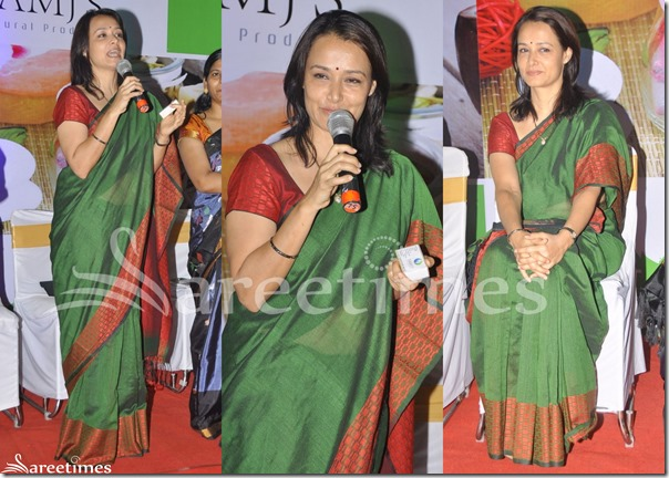 Amala_Green_Silk_Saree