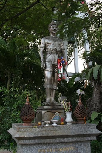 King Meng Rai the Great, who constructed Chiang Mai in 1296. We assume not on his own.