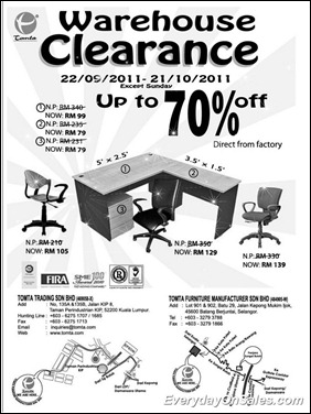 tomta-trading-warehouse-clearance-2011-EverydayOnSales-Warehouse-Sale-Promotion-Deal-Discount
