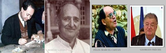 Quatre de l'occitanisme mòrts