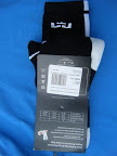 nike basketball elite lebron socks blackwhite 2 01 Matching Nike Basketball Elite Socks for LeBron 9 Miami Vice