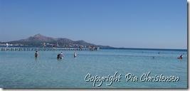 Vandretur langs stranden, Alcudia