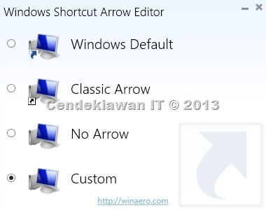 Windows Arrow Editor