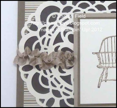 ruched ribbon and perfect die cut shim kit