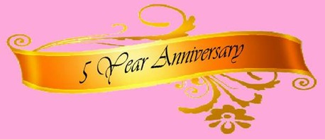5th Anniversary Ribbon6