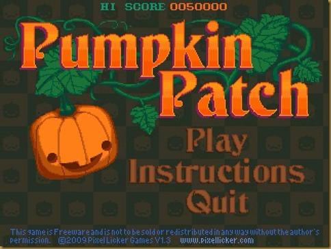 Pumpkin Patch タイトル