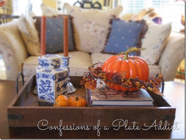 CONFESSIONS OF A PLATE ADDICT Fall Home Tour Living Room