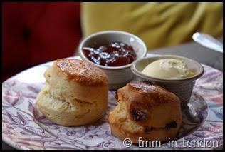 Classic scones Pantry 108 Marylebone Hotel
