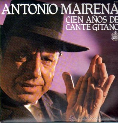Cien años de cante gitano LP 1977 c