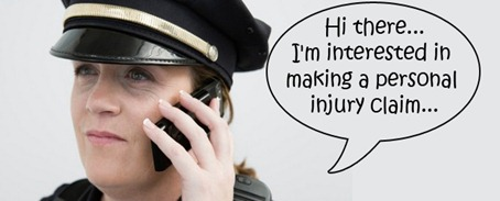 police woman personal injury claim
