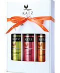 #2. One 3 pack of Katzs vinegar.  I like the Sauvignon Blanc, Zinfandel, and Gravenstein Cider Vinegar.