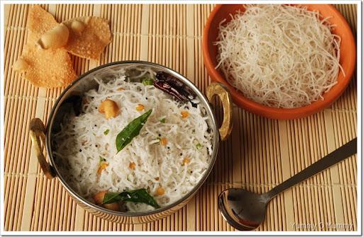 Paleo Coconut Sevai (Rice Noodles)