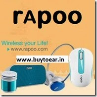 Amazon : Buy Rapoo Computer Accessories upto 66% off from Rs. 239