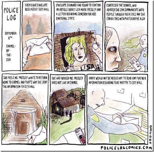 police log comics