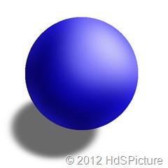 gambar ilustrasi model atom Dalton